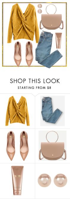 """""""Yellow sweater"""" by yutsu ❤ liked on Polyvore featuring Everlane, La Mer and Nordstrom Rack"""