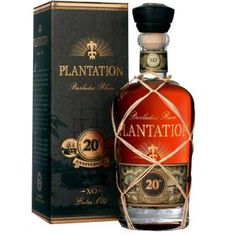 Plantation Anniversary Extra Old Barbados Rum. Aged in bourbon barrels and finished in cognac casks, this rum earned a score of 94 points from the Beverage Testing Institute. Vodka, Tequila, Alcohol Bottles, Liquor Bottles, Barbados Rum, Golden Rum, Rum Bottle, Bottle Shop, Root Beer