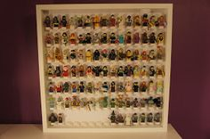 My Lego Collection: Montage - Cadre Minifigs