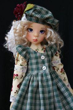 "Scottish Holiday ~ OOAK for 18"" Kaye Wiggs BJD MSD ~ Glorias Garden"