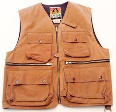 Kakadu Oilskin Vest size M Hunting Fishing Camping Conceal Carry  #Kakadu