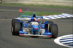 1995 Michael Schumacher, Benetton B195 Renault RS7 3.0 V10