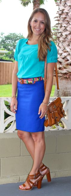 Fifteen color combos to get you started on creative, colorful outfit ideas this summer!