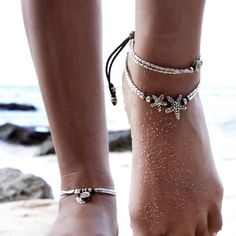 Step up your style with a these simple additions. Anklets make the perfect summer accessory, especially when barefoot on the beach or by the pool.