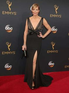 """Speaking of Jamie Pressly's show """"Mom"""" ... her cast mate, Allison Janney and Gemma Baker, the show's... - Todd Williamson/Getty Images North America"""