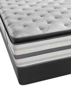 Beautyrest Recharge Plus Santa Rosa 14 5 Plush Pillowtop Mattress Set King