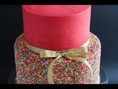 Sprinkle cakes, Cake tutorial and Sprinkles on Pinterest