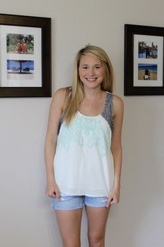 Sherry Embroidery Detail Tank #fashion #women #StitchFix - https://www.stitchfix.com/referral/3114783