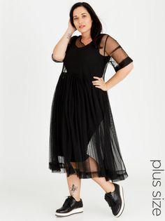 b0cee40a30 Isabel de Villiers Tulle Summer Dress Black ... Spree Dress Black