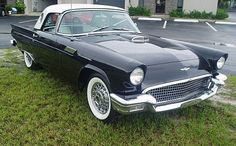 1957 Ford Thunderbird    My all time favorite car from 1955-1957 T-Birds