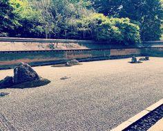 Zen 🌿🍵 Ryoanji  #kyoto #ryoanji #rockgarden #zen#japan