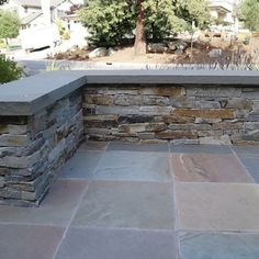 Beau Slate Patio Ledge/bench