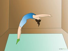 How to Do a Back Handspring at Home: 6 Steps (with Pictures)