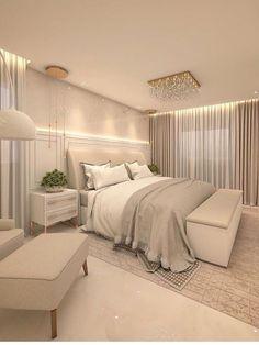 Modern Luxury Bedroom, Master Bedroom Interior, Luxury Bedroom Design, Room Design Bedroom, Master Bedroom Makeover, Bedroom Layouts, Room Ideas Bedroom, Home Room Design, Luxurious Bedrooms