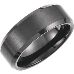 Men's Tungsten Wedding Band - TUN008B