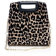 Maje Leopard Print Convertible Shoulder Bag (1.195 BRL) ❤ liked on Polyvore featuring bags, handbags, shoulder bags, leather man bags, handbag purse, man leather shoulder bag, man bag and genuine leather handbags