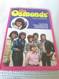 Osmonds 1975 Annual Donny Jimmy Marie Jay Merrill Wayne Alan The Osmonds, Jay, Children, Young Children, Boys, Kids, Child, Kids Part, Kid