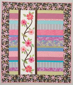 Young At Heart Quilts 15 Designs With Color And Style By Julie Popa Paperback Quilt Pattern Book 2007 Baby Girl Quilts, Girls Quilts, Children's Quilts, Jellyroll Quilts, Applique Designs, Quilting Designs, Quilting Ideas, Applique Ideas, Quilting Tutorials