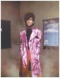 Prince. I had this poster on my bedroom wall.  Love him!