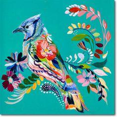 Señor Blue Jay - SkylineArtEditions.com