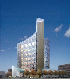 New Courthouse,  Buffalo, NY - Watts provided Civil Design, Site Utility Engineering, and LEED Documentation