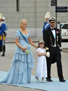 Crown Princess Mette-Marit, Princess Ingrid, Crown Prince Haakon