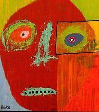 SOOTHSAYER Hoke Outsider RAW Folk Abstract Art Brut Painting nAIVE vISIONARY