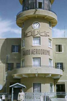 Cairo airport 1954