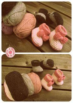 Crochet Baby Booties Crochet Baby Booties
