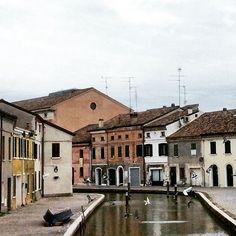 Comacchio, angoli da favola - Instagram by livingravenna