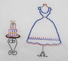 Embroidery lesson 3 by flossbox, via Flickr