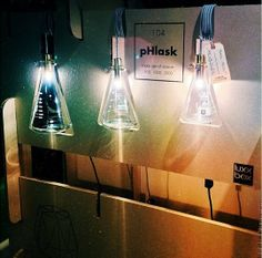pHlask Lamps - laboratory flask pendant lights || WANT NEED MUST HAVE RIGHT AWAY