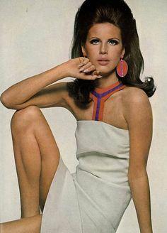 Birgitta af Klercker photo by Bert Stern, Vogue 1966
