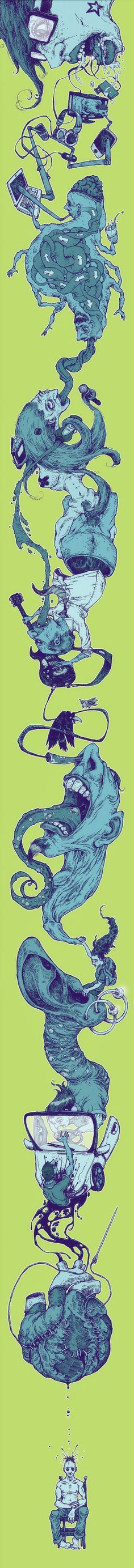 mouth.wide.open by Bernardo Anichini, via Behance