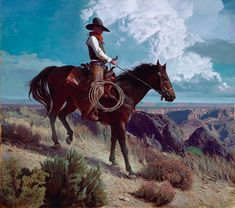 See the source image Beautiful Photos Of Nature, Beautiful Horses, Nature Photos, Cowboy Artwork, American Frontier, Great Western, Equine Art, Old West, Horse Art
