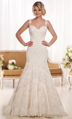 Essense of Australia d1842: buy this dress for a fraction of the salon price on PreOwnedWeddingDresses.com