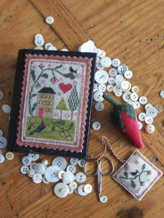 CHESSIE and ME: Nashville Market Preview: Berry House Stitch Book