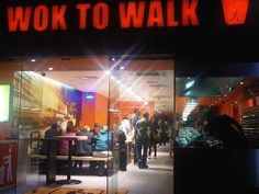 Wok to Walk in Amsterdam - such delicious food!!! Yum!