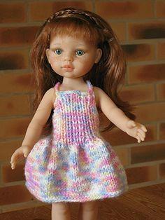 petite-robe-pour-Cherie-ou-Paola-reina tuto : http://tricotdamandine.over-blog.com/tag/madeleine%20ou%20poupees%20%22cheries%22/