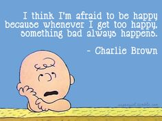 I hear ya, Charlie Brown!
