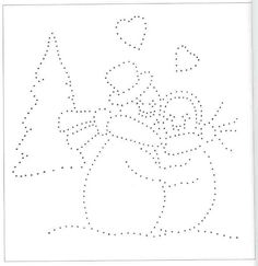 Moje perełki: Kartki na Boże Narodzenie - schematy haftu matematycznego I