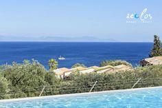 Gaze, unwind and rejuvenate with the Ionian blue vistas surrounding you! more ata aeolosbeach. Corfu Beaches, Beach Hotels, Beach Resorts, Most Beautiful Beaches, East Coast, Outdoor Decor, Holiday, Blue