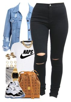 """""""Untitled #1444"""" by power-beauty ❤ liked on Polyvore featuring ASOS, Casio, MCM and Retrò"""