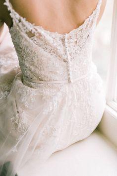 low back wedding dress   delicate wedding dress   bridal style inspiration   classic wedding inspiration