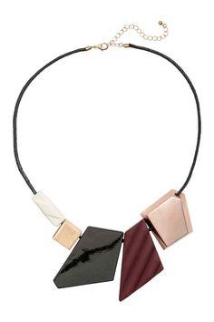 Necklace with Pendants - Black - Ladies | H&M CA 1
