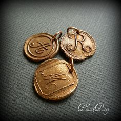 i am obsessed with wax seals.