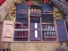 Handmade - Leather Tool Book (?), ... or Leather Tool Case? ;)  What is your opinion?
