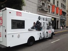 Food trucks aren't just for food as this mobile store front for the sneaker brand Converse proves. Food Trucks, Sneaker Brands, Experiential, View Photos, Recreational Vehicles, Converse, Retail, Store, Ideas