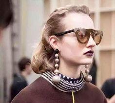 Long Simulated-pearls Dangle Earrings for Women brincos grandes fashion para mulhere perlas boucle d'oreille femme #Affiliate