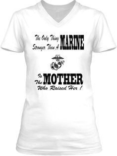 Limited-Edition Female Marine Moms Tee